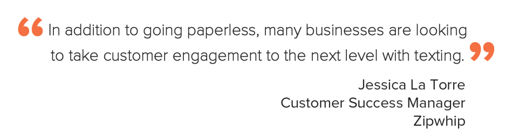 Quote about business texting